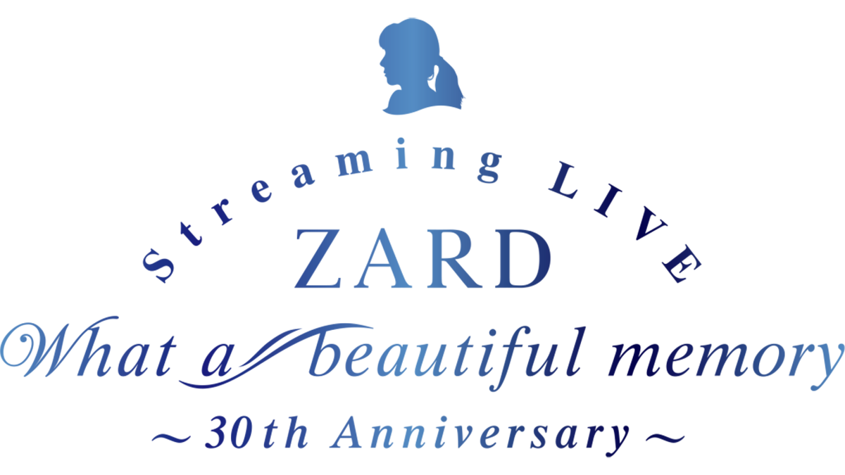 "『ZARD Streaming LIVE ""What a beautiful memory ~30th Anniversary~""』のロゴ"